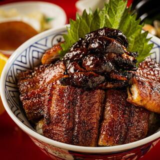 新橋にあるうなぎ丼が美味しい店「炭焼 うな富士 東京」
